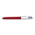 BIC BILLE 4 COUL SHINE ROUGE 964773