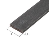 Flachstange, Stahl roh, warm gewalzt, LxBxS 2000 x 15 x 5 mm