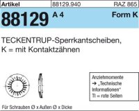 TECKENTRUP-Sperrkants. K8x16,2x1,4