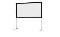 celexon Folding Frame screen 244 x 152cm Mobile Expert, front projection
