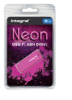USB-STICK INTEGRAL FD 16GB NEON ROZE