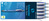 Kugelschreiber Slider Rave, Druckmechanik, XB, blau