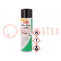 Mazivo; aerosol; kelímek; 500ml; Použití: mazání