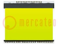 Háttérvilágítás; Alkalmazási terület: EADOGXL160; LED
