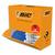BIC Pack de 47 Effaceurs réécriveurs +3 gratuits, corps plastique Blanc Bleu, pointe ogive moyenne 4,5mm