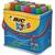 BIC Boîte de 30 feutres Décoralo couleurs assorties