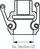 Zeichnung: Größenbestimmung Kamlock-Kupplungsdosen