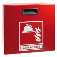 """""""""""""""MINIMAX Schutzbox für Löschdecke LD1, Stahlblech, rot, 31,5 x 31,5 x 15 cm"""""""
