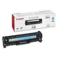 CANON Cartouche toner Cyan CRG718C 2661B002