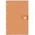 5 ETOILES Bloc agraf� en-t�te 160 pages perfor�es 4 trous 80g 5x5 format 21x31,8 (A4+) Couverture orange