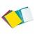EXACOMPTA Chemise à lamelles et compresseur , capacité 350 feuilles perforées, en carte lustrée assortis