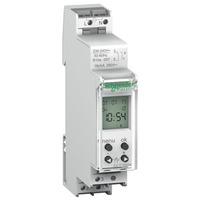 Digitale Zeitschaltuhr, IHP 1c , 18mm, 24 Std.+7 Tage, 1 Kanal