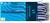 Kugelschreiber K 20 Icy Colours, M, blau, Schaftfarbe: blau transparent