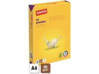 STAPLES MULTIPURPOSE PAPER WHITE 80.0 A4 PREMIUM COLOUR PRIN