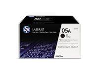 HP 05A - 2-PACK - BLACK - ORIGINAL - LASERJET - TONER CARTRI