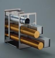 Gestelle GESTICON für Pipettencontainer, Typ GESTICON E4 , Für 4 Pipettencontainer , Breite 195 mm, Tiefe 235 mm, H