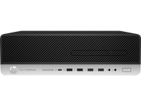 HP EliteDesk 800 G3 3.4GHz i5-7500 SFF Zwart, Zilver PC