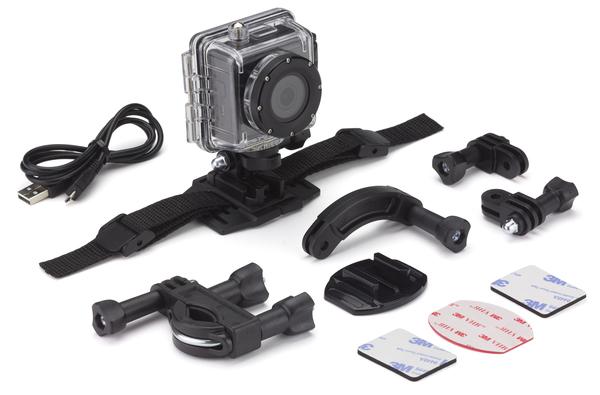 KITVISION SPLASH FULL HD akció kamera – fekete - KVSPLASHBK