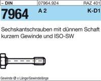 Dünnschaftschrauben M10x35/12,5