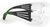 Schutzbrillen 3M SecureFit 400 Sichtscheibe: Klar, Rahmen: schwarz/grün