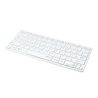 Tastatur, Slim, Funk, Bluetooth, weiß, LogiLink®, [ID0111]
