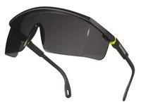Gafas deltaplus de proteccion policarbonato monobloque ahumado color gris-amarilla uv400