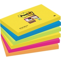 Post-it Haftnotiz SuperSticky 6556SR 127x76mm 6 St./Pack.