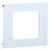 Hager Geräteblende R7 für BR-Kanal, cremeweiß, 100 x 125 mm