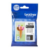 Brother LC-3213BK cartouche d'encre Original Rendement élevé (XL) Noir