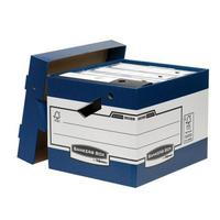 Bankers Box by Fellowes Ergo Stor Heavy Duty FastFold Ref 38801 [Pack 10]