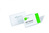 Durable Name Badge with Pin 40x75mm (Pack 100) 8008