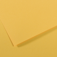 CANSON Feuille MI-TEINTES® 50X65 160g bouton d'or 400