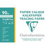 CLF PC/12 FEUIL CALQ 90G A4 97853