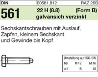 DIN561 BM8x20
