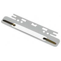 Einsteckheftstreifen 100551905 15x3,7cm PVC weiß
