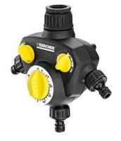 Kärcher WT 2.000 Mechanický časovač zavlažovania Čierna, Žltá