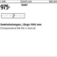 1 Stück verzinkt gal Zn Inhalt Gewindestangen DIN 975 Stahl M 3,5 galv