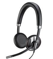 POLY C725 Headset Hoofdband Zwart