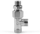 Bosch Rexroth EL08SOMDVITCF Swivel nut run tee