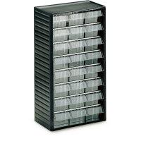 TRESTON Kleinteilemagazin mit 24 Einzelschubladen, Rahmengröße: 31,0 x 55,0 x 18