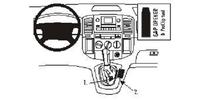 Brodit Fahrzeughalter ProClip für Toyota Corolla Verso 02-03
