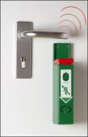 EH-Türwächter mit Funkweiterleitung, grün