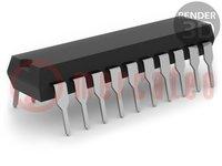 Mikrokontrolér AVR; EEPROM:128B; SRAM:128B; Flash:2kB; DIP20
