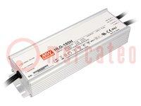 Alimentador: por impulso; LED; 156W; 12VCC; 13A; 90÷305VCA; IP67
