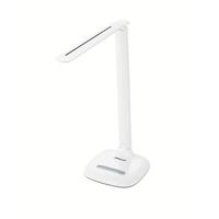 Rexel ActiVita Daylight Strip Desk Lamp 6 Brightness Settings Fully Adjustable Head White Ref 4402013