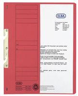 ELBA Einhakhefter kfm. Heftung, Manilakarton (RC), 250 g/qm, A4, 240x305mm, blau