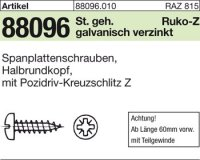 Spanplattenschrauben 6x50-Z