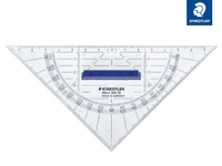 Mars® 568 Geometriedreieck Länge 16 cm mit abnehmbarem Griff