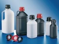 UN-Chemikalienflasche 1000 ml enghals, natur, HDPE ohne Verschluß