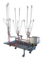 Detailbild - Modulare, mobile Wasch-, Desinfizier- und Trockenstation HT 303-A